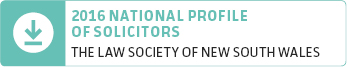 hotlink button 2016 national profile of solicitors